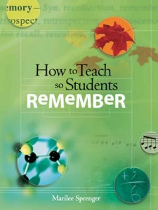 Teaching Students How To Remember