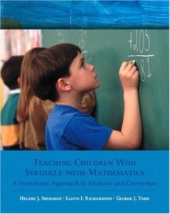 Teaching Children Who Struggle with Mathematics